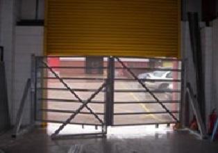 Ram Raid gate with the Roller Shutter